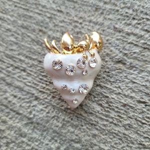 Hermit Crab brooch